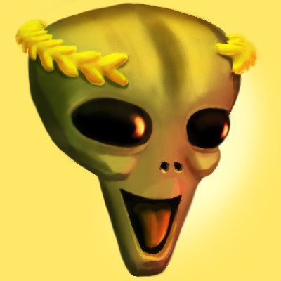 alien laughing
