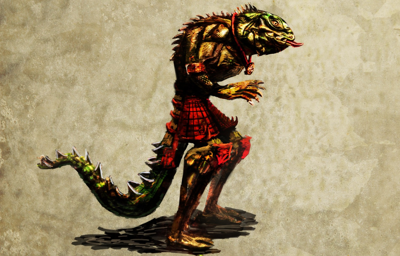 Reptilian Humanoids Reptile humanoid