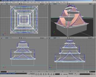 pagoda - 4view - Void lon iXaarii
